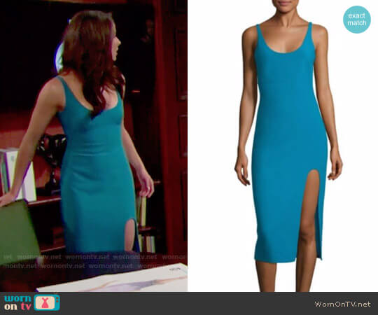 Cinq a Sept Breena Dress worn by Ashleigh Brewer on The Bold & the Beautiful