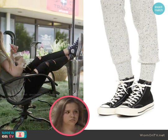 Converse High Top Chuck Taylor Sneakers worn by Daphne Conrad on Nashville
