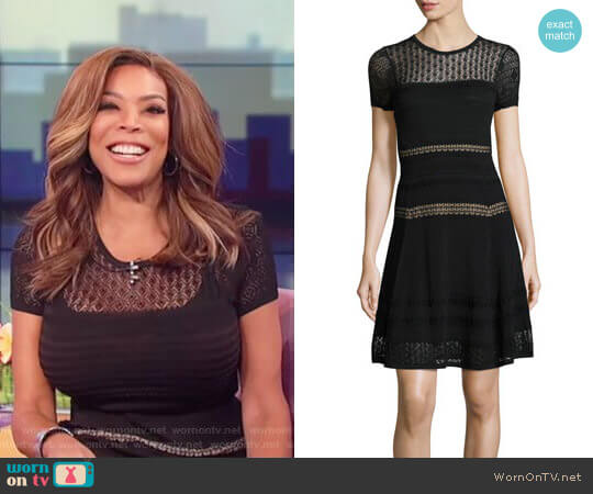 Diane von Furstenberg Celina Dress worn by Wendy Williams on The Wendy Williams Show