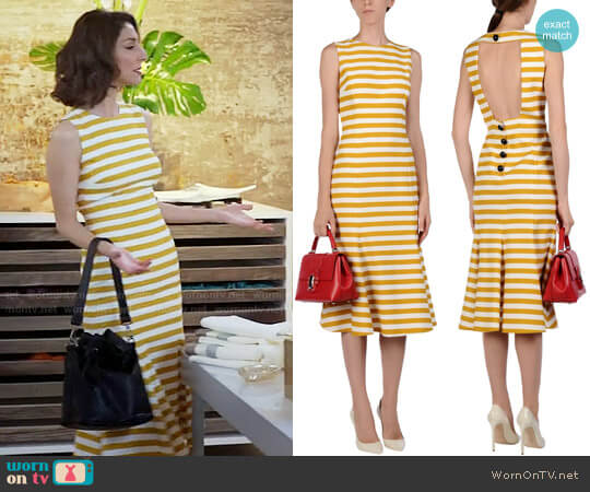 Dolce & Gabbana 3/4 Length Dress worn by Delia (Necar Zadegan) on GG2D