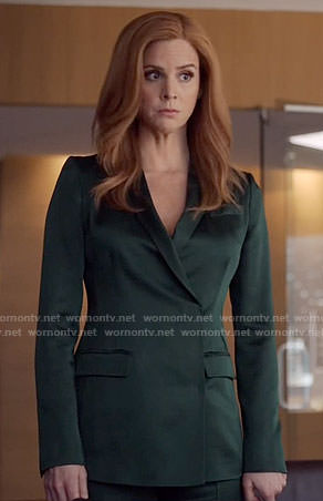Donna's green blazer on Suits
