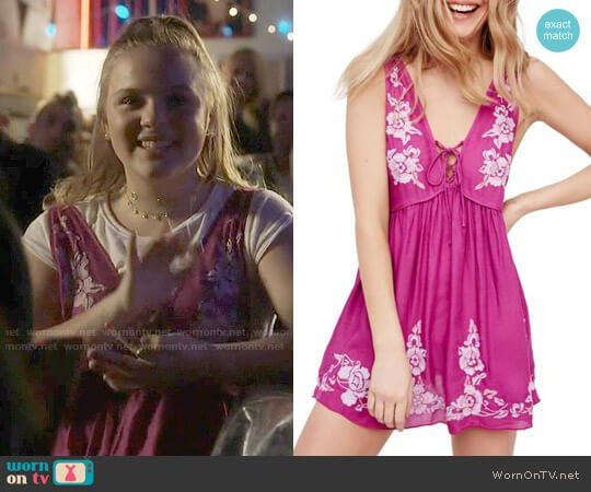 Free People Aida Slip Dress worn by Maisy Stella on Nashville