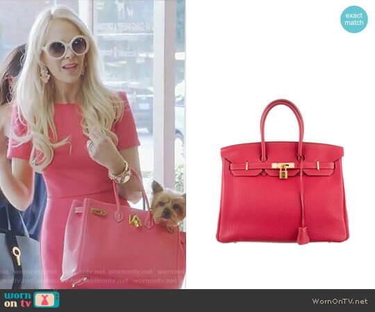 Hermes Birkin Bag worn by Kameron Westcott on The Real Housewives of Dallas