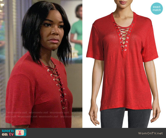 IRO Imis Tee worn by Gabrielle Union on Being Mary Jane