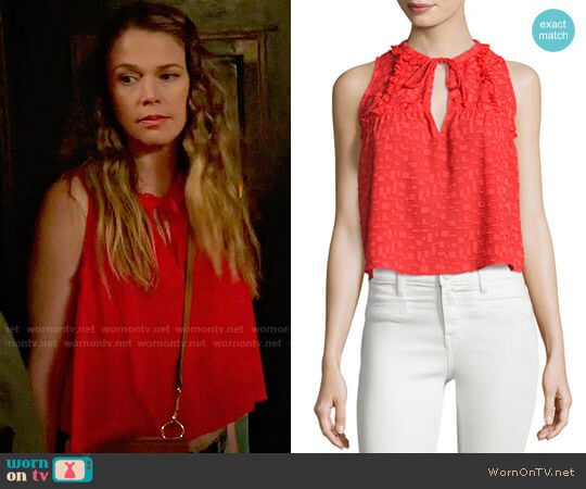 IRO Ragnhild Top worn by Liza Miller (Sutton Foster) on Younger