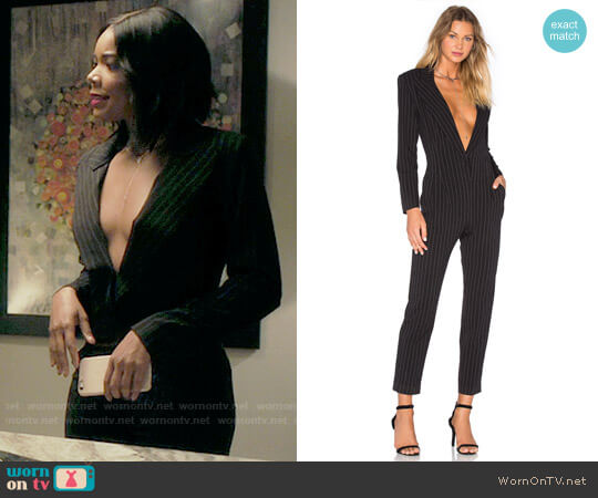 Norma Kamali Tapered Leg Jumpsuit worn by Gabrielle Union on Being Mary Jane