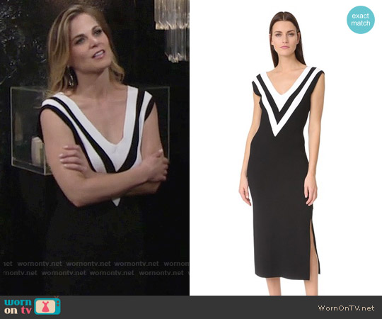 Rag & Bone Daphne Dress worn by Gina Tognoni on The Young & the Restless