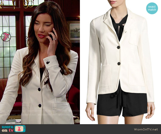 Rag & Bone Regrave Jacket worn by Jacqueline MacInnes Wood on The Bold & the Beautiful