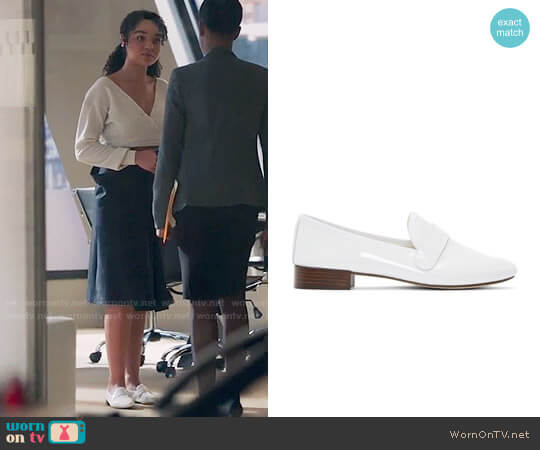 Repetto Michael Loafers worn by Aisha Dee on The Bold Type