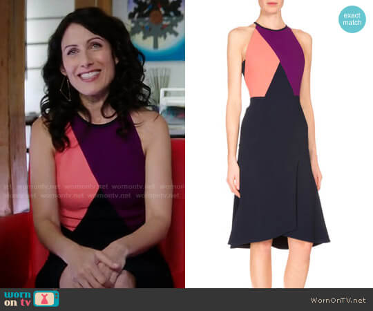 Roland Mouret Kenard Dress worn by Abby McCarthy (Lisa Edelstein) on GG2D