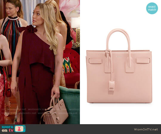 Saint Laurent Sac de Jour worn by Hilary Duff on Younger