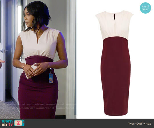Ted Baker Adeba Dress worn by Gabrielle Union on Being Mary Jane