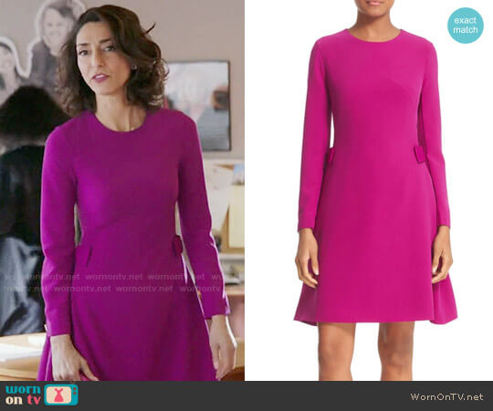 Ted Baker Emorly Dress worn by Necar Zadegan on GG2D