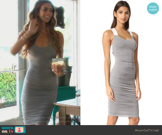 Crossbar Dress by Bailey 44 worn by Lydia McLaughlin on The Real Housewives of Orange County