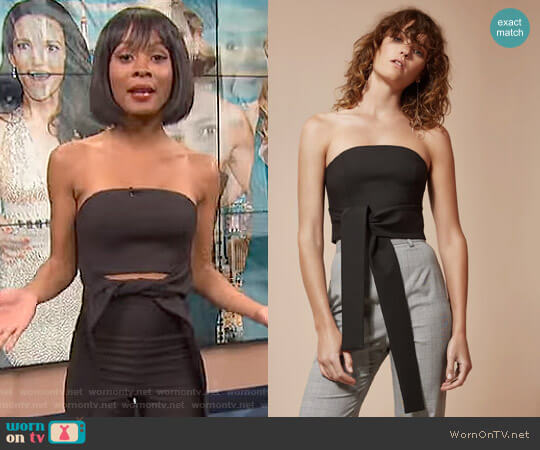 We Woke Up Top by C/Meo Collective worn by Zuri Hall on E! News