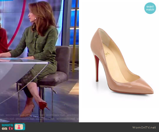 'So Kate' Pointy Toe Pump by Christian Louboutin worn by Jedediah Bila on The View