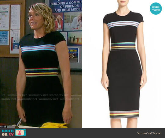Diane von Furstenberg Hadlie Dress worn by Nicole Walker (Arianne Zucker) on Days of our Lives