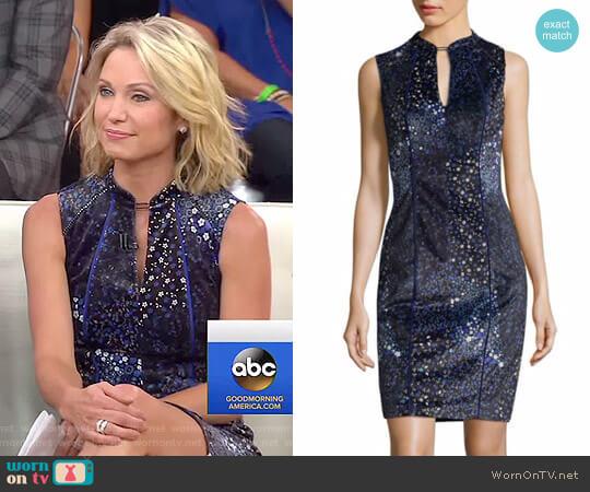 'Arabella' Dress by Elie Tahari worn by Amy Robach  on Good Morning America