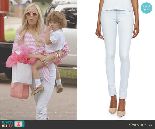 Karlie Forever Skinny Jeans by Frame worn by Kameron Westcott  on The Real Housewives of Dallas