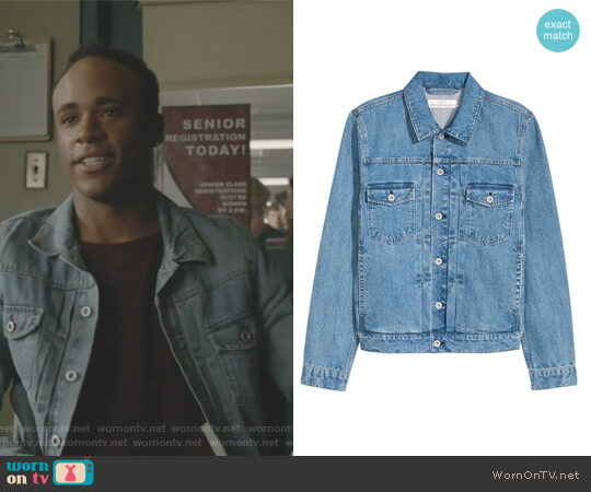 Denim Jacket by H&M worn by Khylin Trejon Rhambo on Teen Wolf