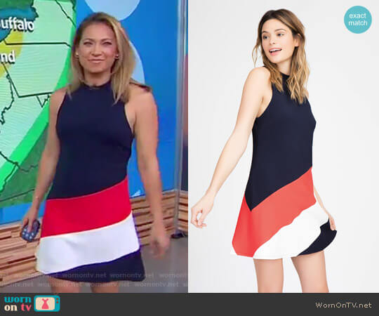 Ava Dress by Hutch worn by Ginger Zee  on Good Morning America