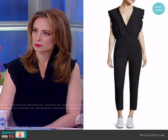 Ioco Scallop Trim Jumpsuit by Iro worn by Jedediah Bila on The View