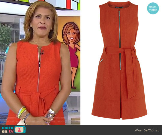 Zip Front Dress by Karen Millen worn by Hoda Kotb on Today