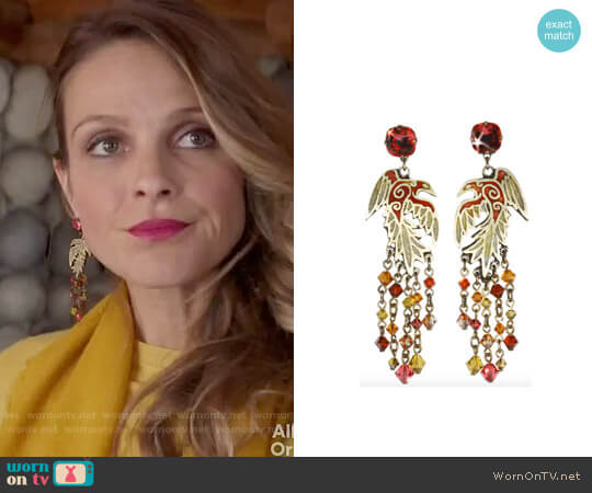Miranda Konstantinidou Earrings worn by Phoebe Wells (Beau Garrett) on GG2D