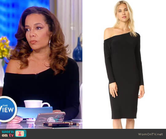 Drop Shoulder Dress by Norma Kamali worn by Sunny Hostin  on The View