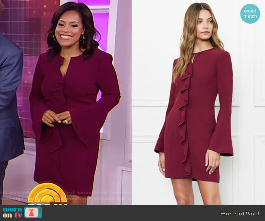 'Monner' Dress by Rachel Zoe worn by Sheinelle Jones on Today