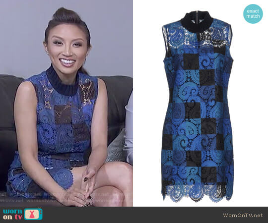Short Dress by Sea worn by Jeannie Mai on The Real