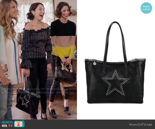 Stella McCartney Falabella Star Tote worn by Abby McCarthy (Lisa Edelstein) on GG2D