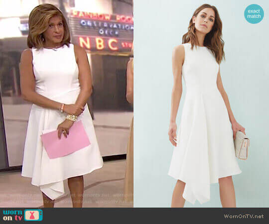 'Arola' Dress by Ted Baker worn by Hoda Kotb on Today