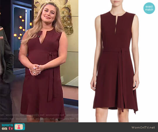 'Desza' Crepe Dress by Theory worn by Carissa Loethen Culiner on E! News