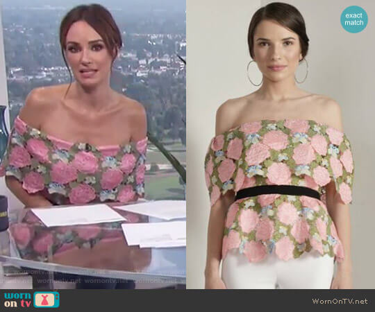 by Vone - NC 04 Top worn by Catt Sadler on E! News