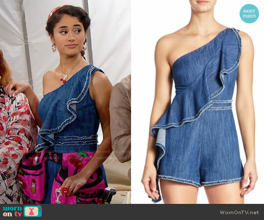 Alexis Blakely Romper worn by Darlita (Danube Hermosillo) on The Bold & the Beautiful