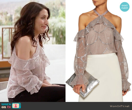 Alexis Kylie Top worn by Lisa Edelstein on GG2D