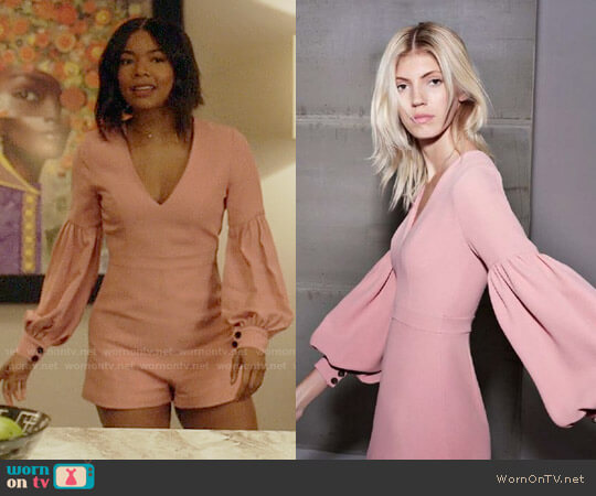 Alexis Kourtney Romper worn by Mary Jane Paul (Gabrielle Union) on Being Mary Jane