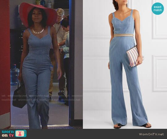 Alice + Olivia Cristal Jumpsuit worn by Mary Jane Paul (Gabrielle Union) on Being Mary Jane