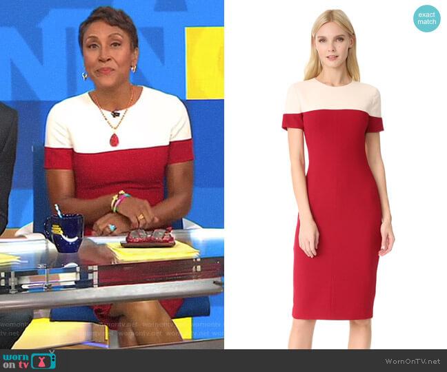 'Layne' Sheath Dress by Black Halo worn by Robin Roberts on Good Morning America