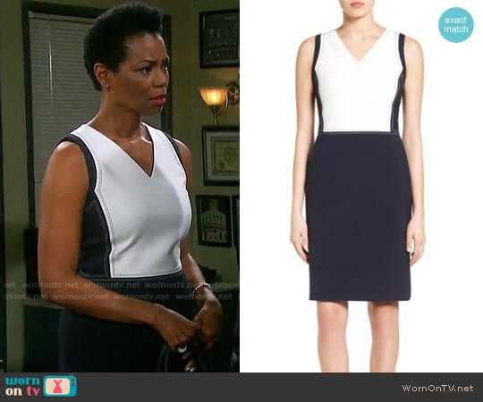 BOSS Demida Dress worn by Valerie Grant (Vanessa Williams) on Days of our Lives