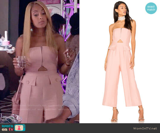C/MEO No Limit Jumpsuit worn by Amanda Seales on Insecure