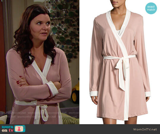 Cosabella Bella Robe worn by Heather Tom on The Bold & the Beautiful