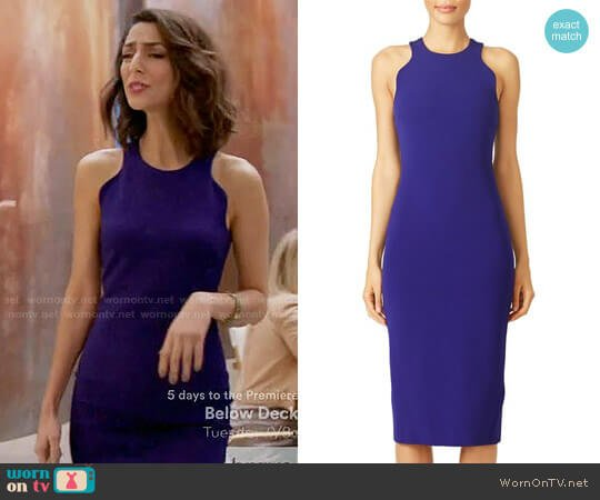 Cushnie et Ochs Dina Sheath worn by Delia (Necar Zadegan) on GG2D
