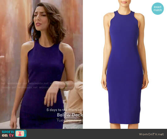 Cushnie et Ochs Dina Sheath worn by Necar Zadegan on GG2D