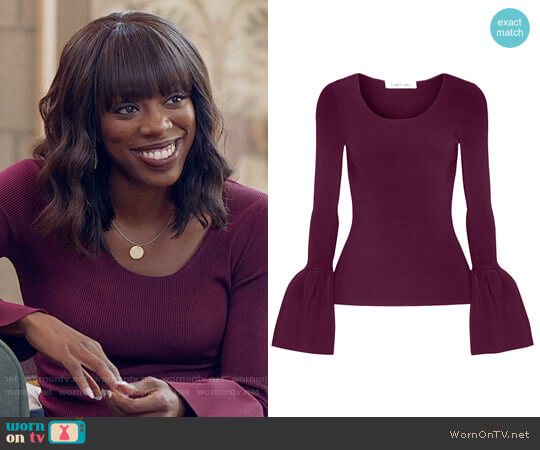 Elizabeth and James Willow Top worn by Yvonne Orji on Insecure