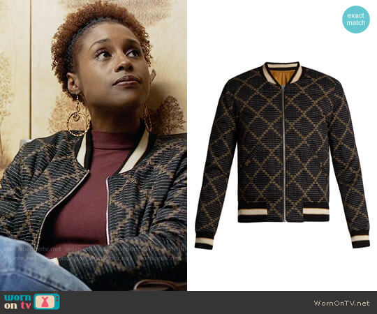 Isabel Marant Dabney Jacket worn by Issa Dee (Issa Rae) on Insecure