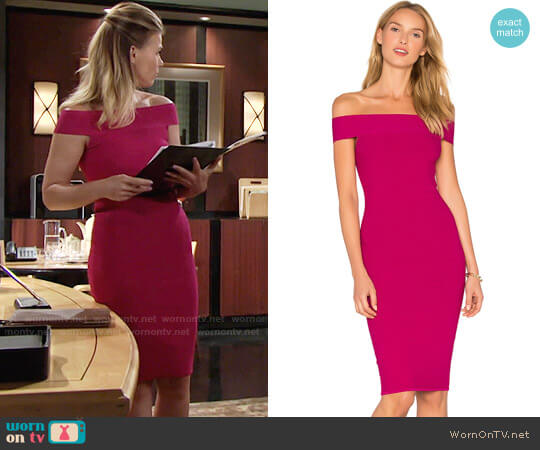 Jay Godfrey Roy Dress worn by Phyllis Newman (Gina Tognoni) on The Young & the Restless