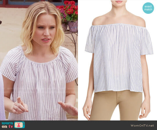 Joie Amesti Top worn by Kristen Bell on The Good Place
