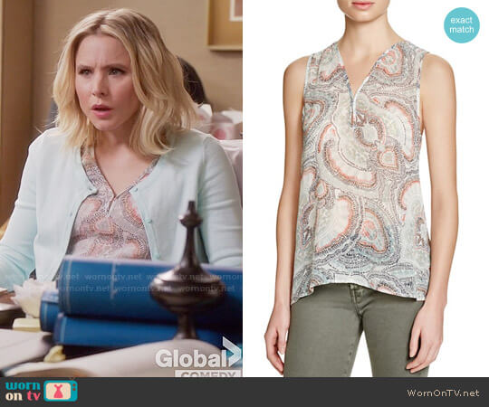 Joie Joaquin Top worn by Kristen Bell on The Good Place